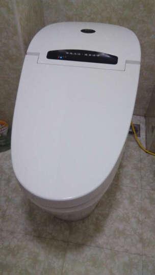 皇姿 智能马桶一体机 遥控坐便器马桶盖圈加热洁身器节水防臭缓降带夜光灯 400金色座便器 晒单图