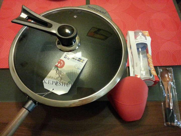 【瑞典原装进口】skeppshult 铸铁锅炒锅物理不粘锅铁锅无油烟炒菜锅32cm 晒单图