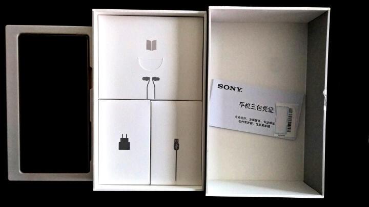 索尼(SONY) Xperia Z5尊享版 DUAL E6883  移动联通双4G手机 幻影黑 晒单图