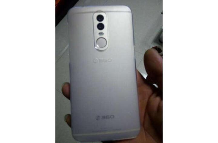 360 K151501 360手机Q5磨砂半透保护壳(透明) 晒单图