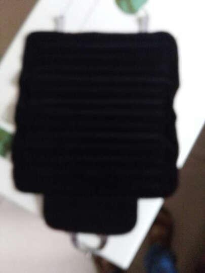 欧森虎汽车坐垫竹炭座垫碳四季通用新款透气春秋夏季凉垫冬季无靠背小三件套单片可拆洗棉亚麻布艺 黑色前排2个单片竹炭 晒单图