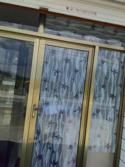 俊艺(JunYi) 俊艺玻璃纸窗户贴膜自粘透光不透明窗花纸窗贴磨砂贴卫生间办公室膜防静电 纯磨砂 90厘米宽*2米长 晒单图