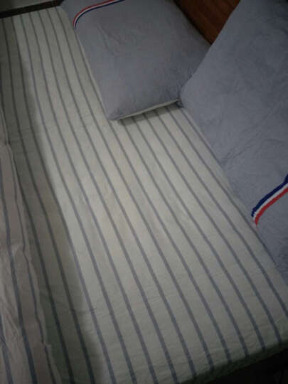 【京东快递】摩亚四件套纯棉床品套件全棉斜纹床单被罩床上用品 爱巢 1.5/1.8米床(被套200cm*230cm) 晒单图