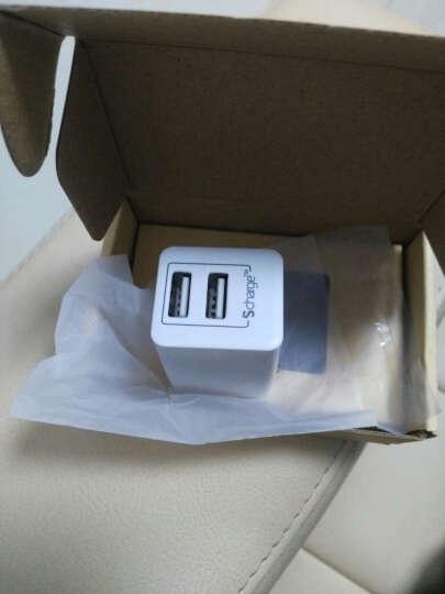 奥睿科 (ORICO)多口USB充电器 苹果手机充电器头2A快充头iPhoneX/8/7plus/6s三星小米华为手机平板 玫红 晒单图