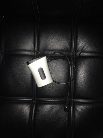 福鹿 车载充电器点烟器一拖二汽车充电器带电压检测能量杯 晒单图