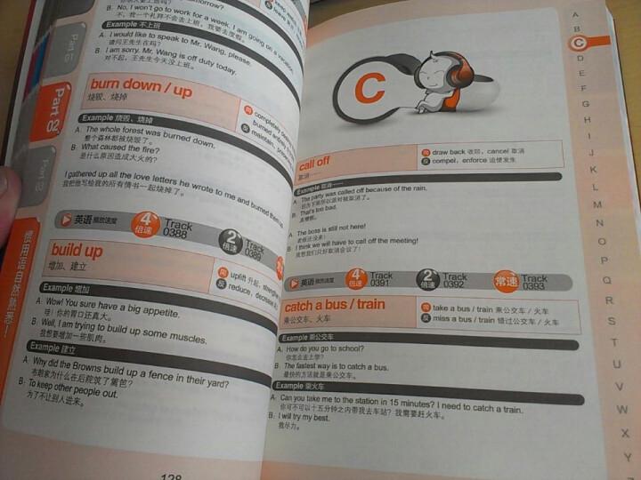 每天学一点英语:单词、惯用语、短句(附光盘) 晒单图