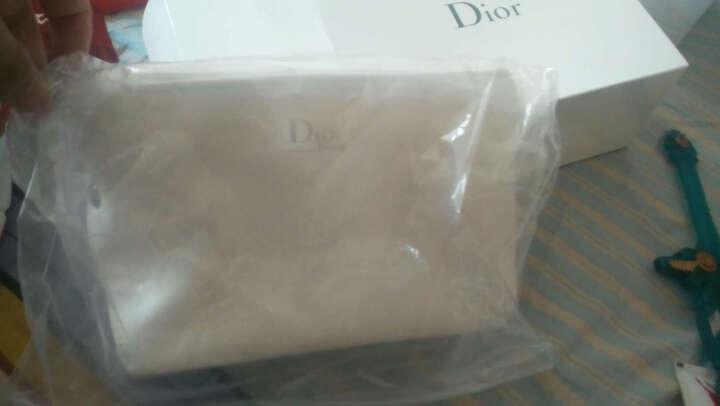 迪奥 Dior 化妆包女 白色奢华按扣时尚化妆包 晒单图