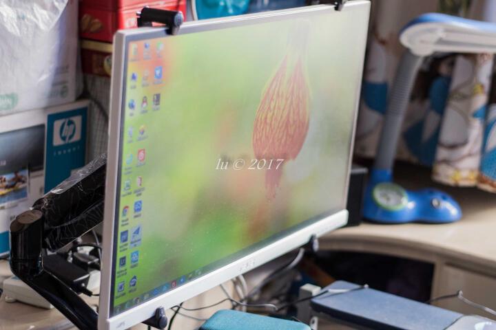 乐歌(Loctek)DA2 无孔配件 无孔显示器支架配件 晒单图