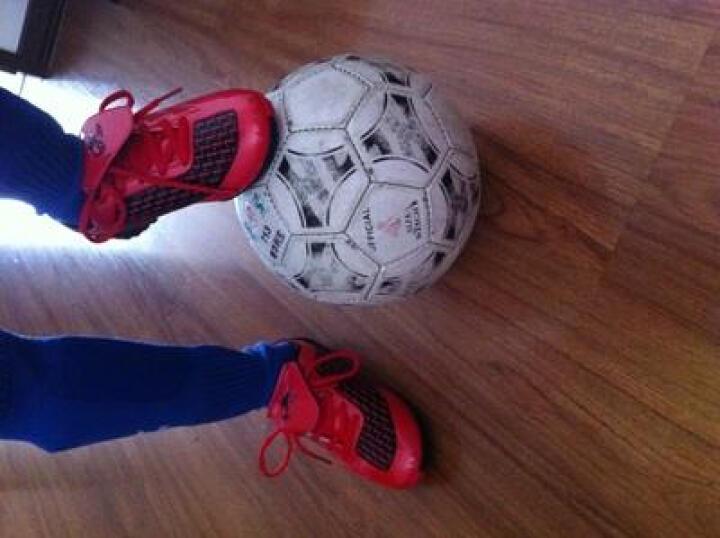 特步Xtep童鞋大童鞋运动休闲鞋儿童运动足球鞋 986415189557 兰黄 31码/20.5cm 晒单图