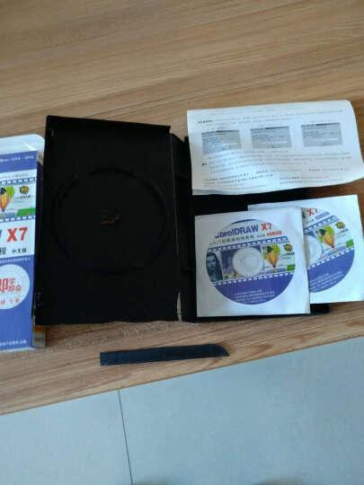 CorelDRAW X7从入门到精通视频教程(中文版)(12DVD-ROM+使用说明) 晒单图
