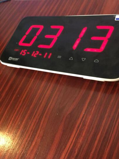 刻锐(KERUI)C1无线呼叫器 智能排队取餐机适用餐厅茶楼酒吧咖啡厅服务铃棋牌室医院楼层 带30个汉堡式按钮 晒单图