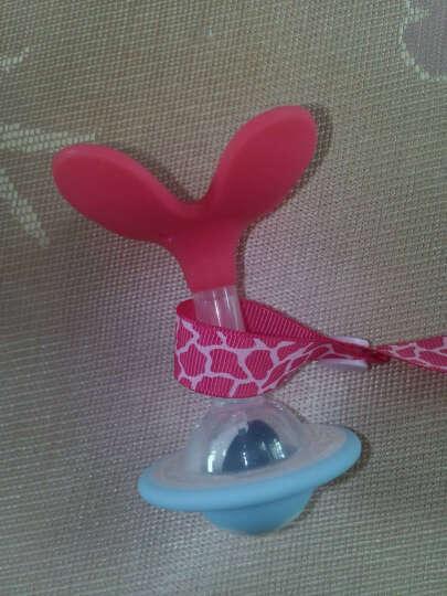 【全球购】日本原装 Pigeon贝亲婴儿响铃牙胶固齿器 磨牙训练 浅蓝色 132220 晒单图