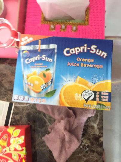 果倍爽 德国品质  复合水果汁饮料200ml*6包冷饮整箱 葡萄橙汁桃 指定口味请联系客服 晒单图