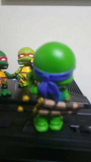 电影版四款Q版忍者神龟可动摆件玩具模型公仔 四款简装7cm 晒单图