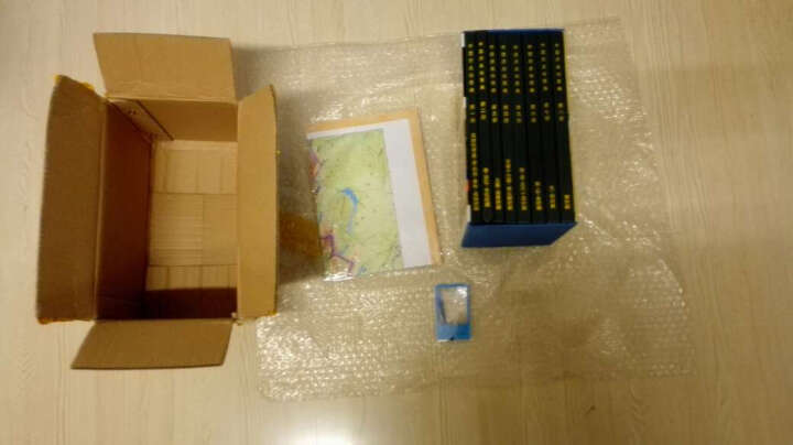 【买一赠三】中国历史地图集 谭其骧著 套装8册 考古地理工具书 晒单图
