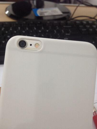 亿色(ESR) iPhone6s plus手机壳/iPhone6 plus保护套 轻薄磨砂软壳 隔离霜系列 雪花白(实色) 晒单图
