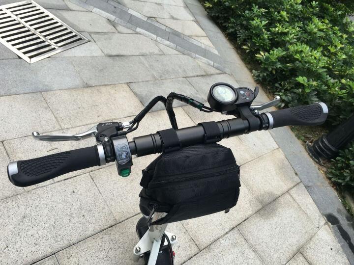 coolpower 电动滑板车可折叠便携代步代驾迷你型成人电动自行车电瓶车 黑色单座椅45公里 晒单图