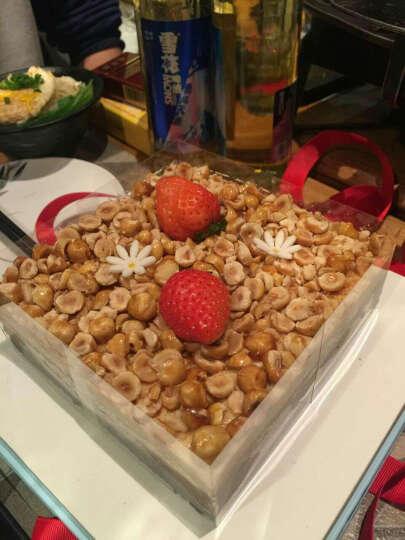 好利来 生日 榛果巧克力蛋糕  密林榛果 限北京五环内   预定 适合2至4人食用 14*14cm 晒单图