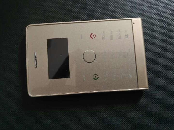 索野(SOYES) H1移动/联通 超薄卡片手机学生儿童备用超长待机迷你小手机 金色 8G内存版 晒单图