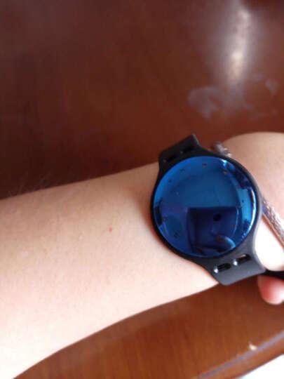 韩国现代(HYUNDAI)智能手环手表男女运动健康手环户外自拍信息提示 安卓iOS小米通用 运动手环-黑色 晒单图