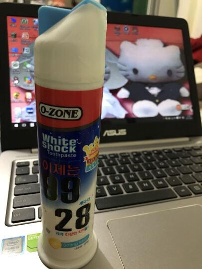 欧志姆(O-ZONE) 欧志姆韩国进口欧志姆魔力迅白牙膏去渍美白去除口臭薄荷口味立体泵式 1支装 晒单图