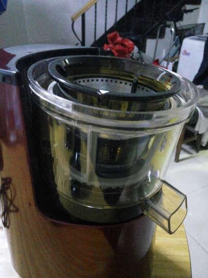 韩优 低转速电机大口径型多功能家用全自动水果原汁机榨汁机料理机豆浆 006N小口径红色 晒单图
