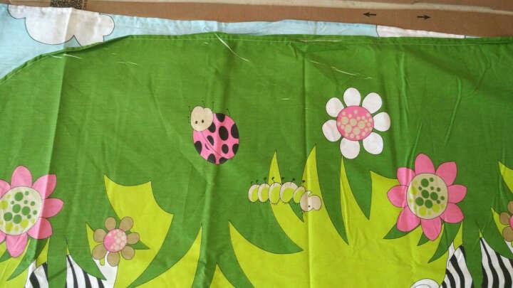 南极人四件套纯棉床上用品斜纹全棉活性印花被套床单式床品套件1.5-1.8米床通用 曼妙花影 1.8m(6英尺) 晒单图