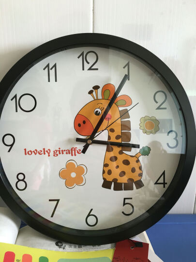 幼儿园手工钟表图片5