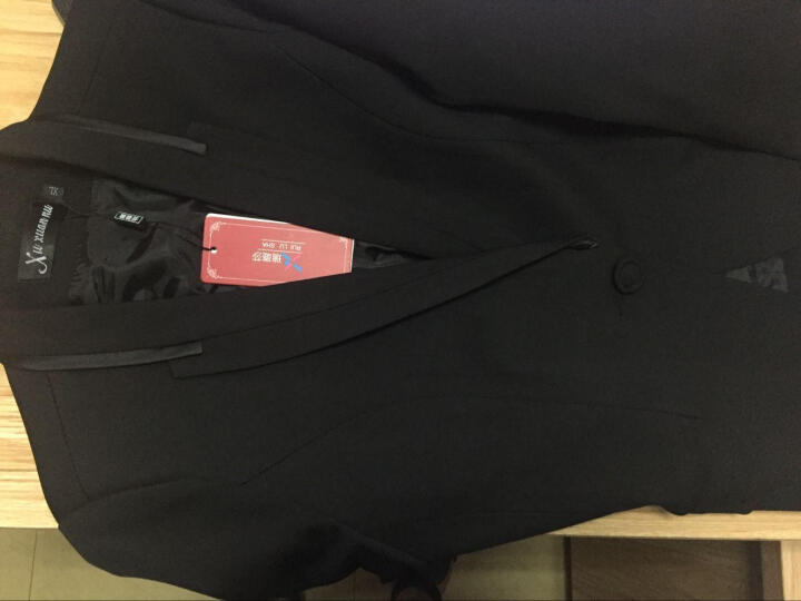 瑞璐莎 职业套装女职业装女装套装秋冬新款修身小西装女酒店前台迎宾空姐工作服9 玫红西装+裤子+衬衣 S 晒单图
