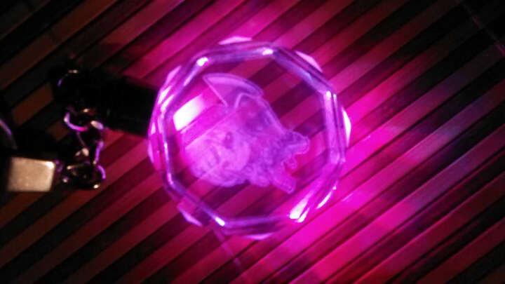 英雄 撸啊撸 英雄人物 联盟 Q版3D发光水晶钥匙扣 个性情侣 钥匙链 随身配饰 创意礼品 放逐之刃-锐雯 晒单图