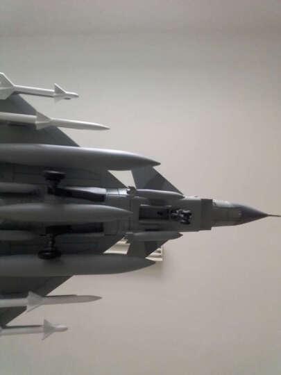 特尔博(Terebo) 特尔博 1:72歼10飞机模型仿真合金军事战斗机和平精英模型 原厂双座舱位 晒单图