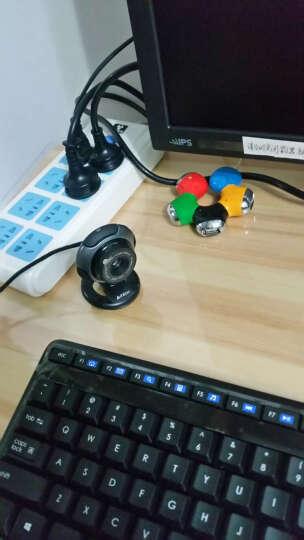 MOOV 双飞燕 美颜电脑摄像头 主播高清视屏聊天免驱动 USB带麦克风台式笔记本电视通用 晒单图