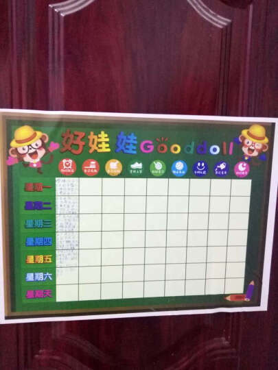 幼儿园小朋友小红花奖励表扬贴纸儿童房间墙