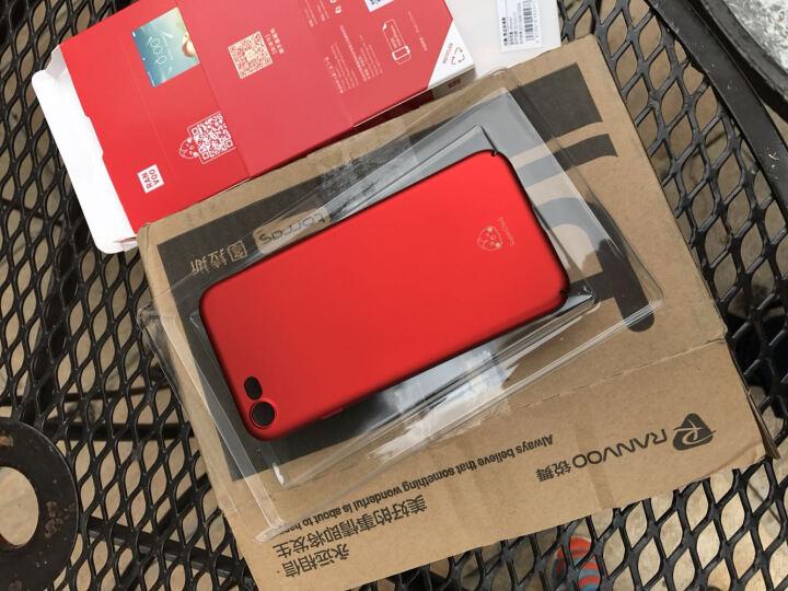 锐舞 iPhone7/8手机壳苹果7Plus保护套8P磨砂男女薄防摔全包硬壳个性时尚 5.5英寸-中国红 晒单图