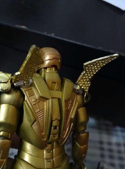 媛之梦(Zshdm) 复仇者联盟钢铁侠模型玩具MK42MK43MK6托尼公仔生日礼物 精装MK43可更换配件 晒单图