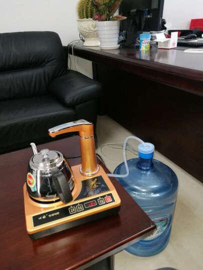 心好电磁茶炉自动上水茶具套装 泡茶电磁炉三合一 电热水壶烧水壶K7 电磁茶炉单壶款 晒单图