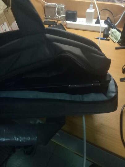 英制 BRINCH手提电脑包15.6英寸潮通用款商务单肩联想拯救者苹果小米笔记本包公文包 BW-203棕色 晒单图