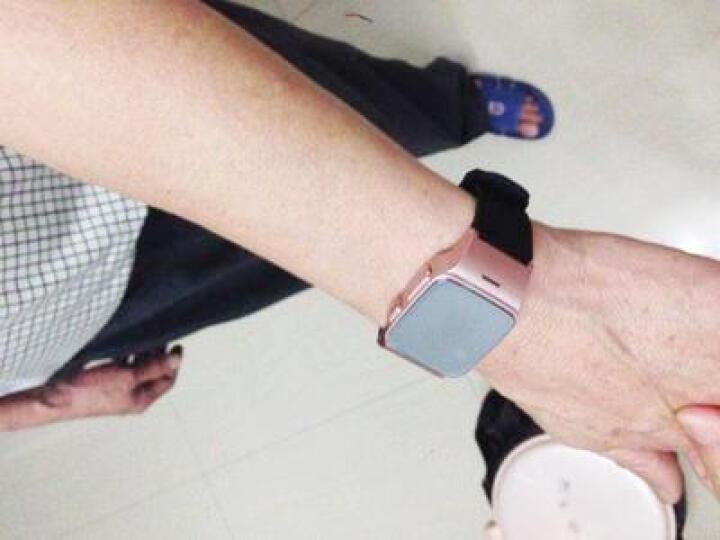 老人儿童小孩定位手表GPS定位器追踪器 定位跟踪器 手环智能防丢 定位手机定位仪 玫瑰金 晒单图
