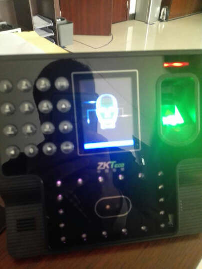 中控智慧(ZKTeco)VF300 人脸识别考勤机 晒单图