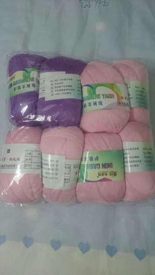 26s/2羊绒线 羊绒毛线 手编机织均可 细线 毛线 婴儿宝宝毛线 绒配线 04浅米色 其他 晒单图