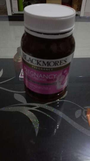 澳佳宝(Blackmores) Blackmores澳佳宝 孕妇黄金营养素叶酸片180粒 晒单图