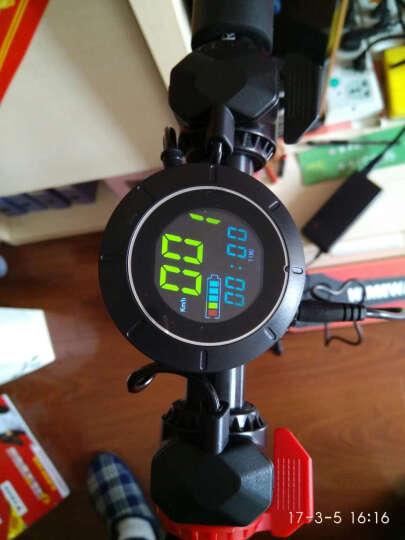 HIMIWAY 电动滑板车 成人折叠电动车自行车碳纤维轻便迷你电瓶车代驾代步车 黑色碳纤维 续航35公里左右 晒单图
