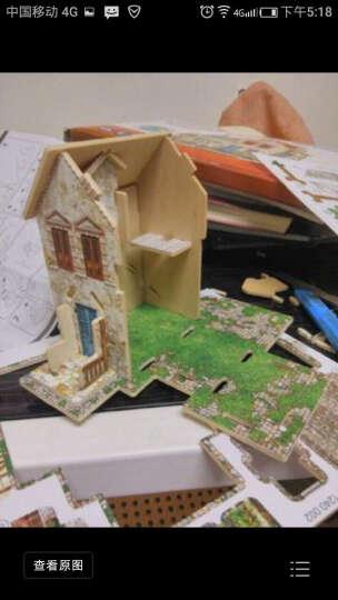 若态 3D立体拼图建筑房子DIY手工拼装木质小屋模型拼图儿童大人成年人拼图益智玩具 日本茶馆F120(世界风情立体建筑拼图玩具) 晒单图