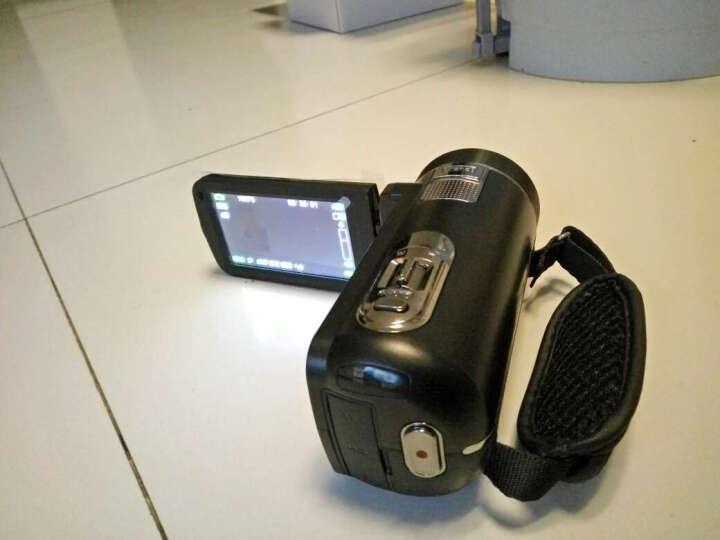 进口欧达Z18摄像机数码DV全高清摄影机dv(192倍变焦可接长焦镜头增强5轴防抖) 黑色标配 +32G卡+电池+三脚架+广角增距镜头送大礼包 晒单图