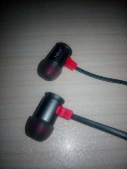 HaLF 手机耳机入耳式 重低音通用线控带麦金属耳塞魔音MP3耳麦电脑oppor苹果5/6 神秘黑 晒单图