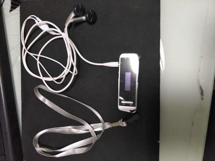 炳捷N9000 随身听mp3 学生 迷你有屏 运动便携mp3跑步 hifi无损音乐播放器 银色16G 晒单图