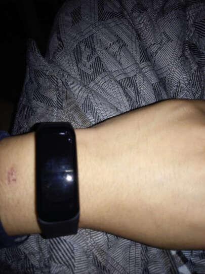 MATE 智能测心率血压蓝牙运动手环 睡眠检测心律监测步跑计步器防水手表穿戴男士魅族安卓 生命绿 晒单图