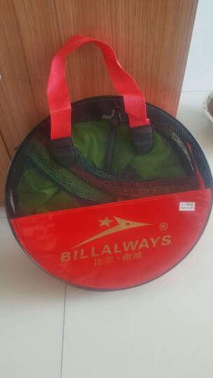 比尔·傲威(BILLALWAYS)专业竞技黑坑鱼护纯手工编织鱼护黑大坑鱼护网兜渔护渔具套装 45cm*2.8米天蓝色 晒单图