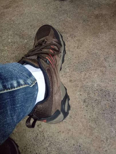 哥伦比亚/Columbia男鞋 户外减震徒步鞋网透气男士运动跑步鞋徒步鞋BM1732 252 WET SAND/SQUASH US 07.5 晒单图