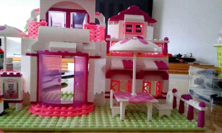 小鲁班公主拼装城堡儿童玩具女孩城市益智组装儿童玩具积木6-14周岁 辽宁号航空母舰1001粒(0537) 晒单图